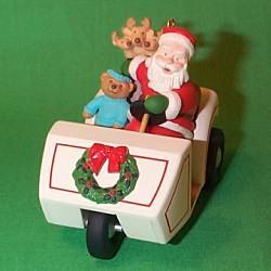 1999 Here Comes Santa #21 - Golf Cart Hallmark Ornament