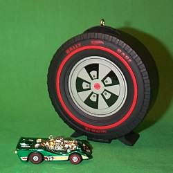 1999 Hot Wheels Car And Case Hallmark Ornament