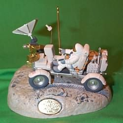 1999 Journey Into Space #4f - Lunar Rover - MNT Hallmark Ornament