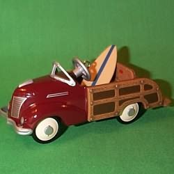1999 Kiddie Car Classic - 39 Ford Stat. Wgn Hallmark Ornament
