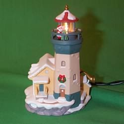 1999 Lighthouse Greetings #3 Hallmark Ornament
