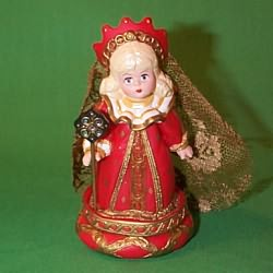 1999 Madame Alexander #4 - Red Queen Hallmark Ornament