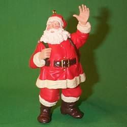 1999 Merry Olde Santa #10f Hallmark Ornament