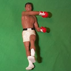 1999 Muhammad Ali Hallmark Ornament