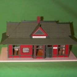 1999 Oceanside Depot Hallmark Ornament