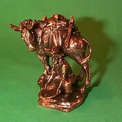 1999 Old West #2 - Prospector Hallmark Ornament