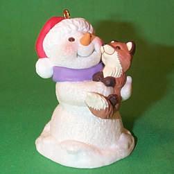 1999 Snow Buddies #2 - Fox - NB Hallmark Ornament