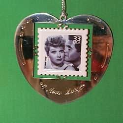 1999 Stamp - I Love Lucy - MNT Hallmark Ornament