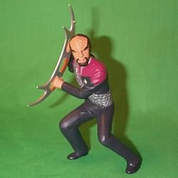 1999 Star Trek - Lt Commander Worf Hallmark Ornament