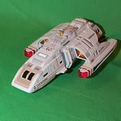 1999 Star Trek - Runabout - Uss Rio Grande Hallmark Ornament