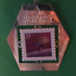 1999 Star Trek - Stamp - MNT Hallmark Ornament