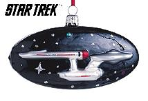 1999 Star Trek - Uss Enterprise - Blown Glass - SDB Hallmark Ornament