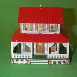 1999 Town And Country #1 - Farm House Hallmark Ornament