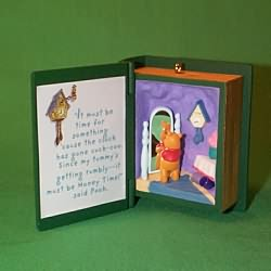 1999 Winnie The Pooh - Book #2 - Honey Time Hallmark Ornament
