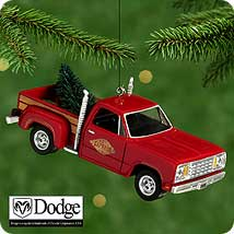 2000 All American Trucks #6 - 1979 Little Red Dodge Hallmark Ornament