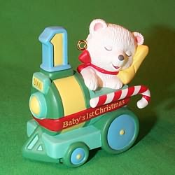 2000 Baby's 1st Christmas - Bear Hallmark Ornament