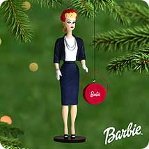 2000 Barbie - Debut #7 - Commuter Hallmark Ornament