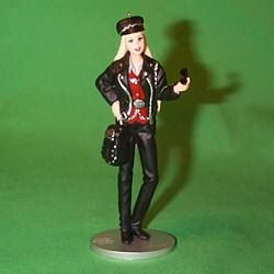 2000 Barbie - Harley Davidson Hallmark Ornament