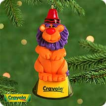 2000 Crayola - King Of The Ring Hallmark Ornament