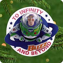 2000 Disney - Buzz Lightyear Hallmark Ornament