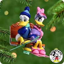 2000 Disney - Lover's Lodge #3f Hallmark Ornament