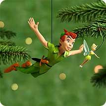2000 Disney - Peter Pan Hallmark Ornament