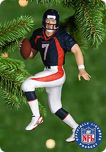 2000 Football #6 - John Elway - MNT Hallmark Ornament