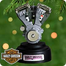 2000 Harley Engine - SDB Hallmark Ornament