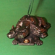 2000 Harry Potter - Fluffy On Guard Hallmark Ornament