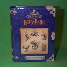 2000 Harry Potter - Hogwarts Charms Hallmark Ornament