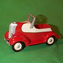 2000 Kiddie Car Classic - '38 Lincoln Zephyr Hallmark Ornament