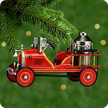 2000 Kiddie Car Classic #7 - 24 Toledo Fire  Engine - MNT Hallmark Ornament