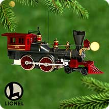 2000 Lionel #5 - General Steam Hallmark Ornament