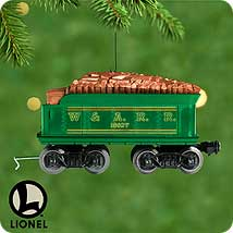2000 Lionel -  Tender - DB Hallmark Ornament