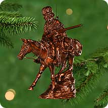 Old West Hallmark Ornaments
