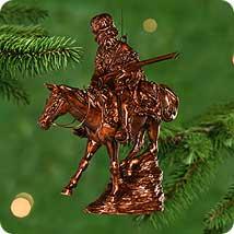 Old West Hallmark Ornaments