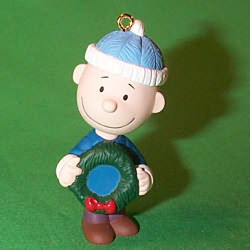 2000 Peanuts - Charlie Brown Hallmark Ornament