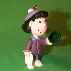 2000 Peanuts - Lucy Hallmark Ornament