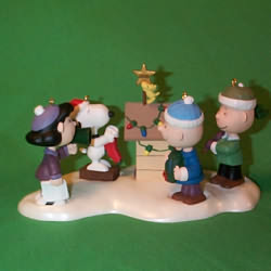 2000 Peanuts - Set Hallmark Ornament