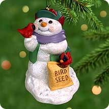 2000 Snow Buddies #3 - Cardinals Hallmark Ornament