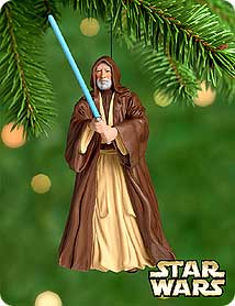 2000 Star Wars #4 - Obi-wan Hallmark Ornament