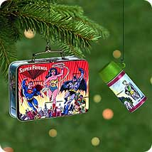 2000 Super Friends Lunch Box Hallmark Ornament