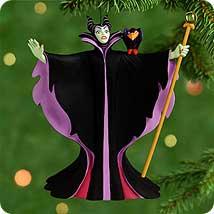 2000 Villians #3 - Maleficent Hallmark Ornament