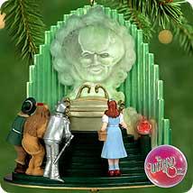 2000 Wizard Of Oz - The Great Oz Hallmark Ornament