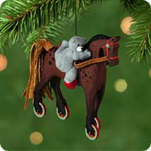 A Pony for Christmas Hallmark Ornaments
