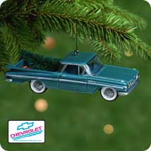 2001 All American Trucks #7 - 1959 Chev. El Camino - MNT Hallmark Ornament
