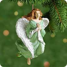 2001 Angel Of Faith Hallmark Ornament