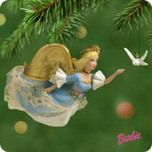 2001 Barbie - Angel Hallmark Ornament