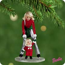 2001 Barbie - Barbie And Kelly Hallmark Ornament