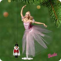 2001 Barbie - Sugar Plum Fairy - SDB Hallmark Ornament